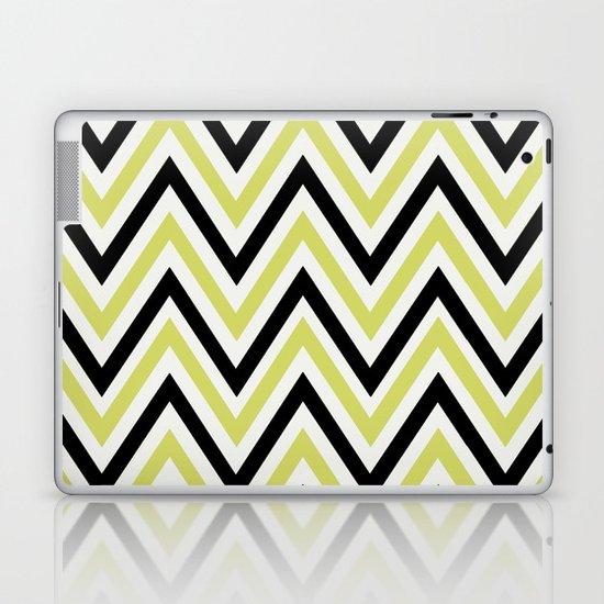 GREEN CHEVRON Laptop & iPad Skin