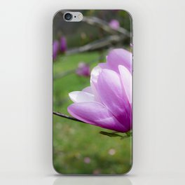 Tulip Flower on Tree iPhone Skin
