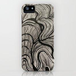 Black Limbo iPhone Case