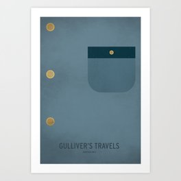 Gulliver's Travels Art Print