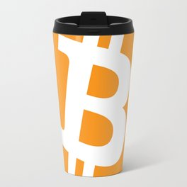 Bitcoin Currency Travel Mug