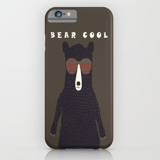 bear cool iPhone & iPod Case