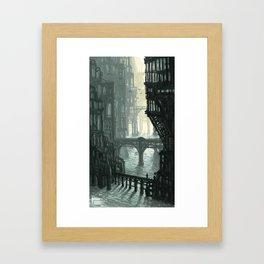 City of Bridges Framed Art Print