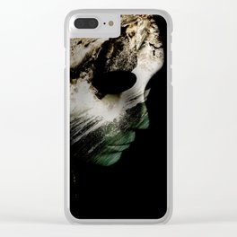 State of mind 04 Clear iPhone Case