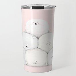 Harp Seal Pups Travel Mug