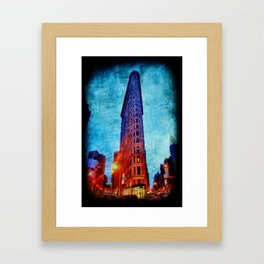 Flatiron NYC Framed Art Print