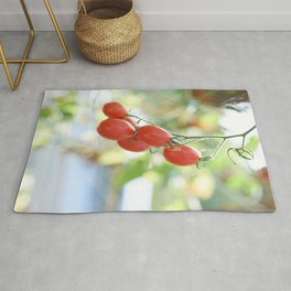 Bunch of tomatoes Rug