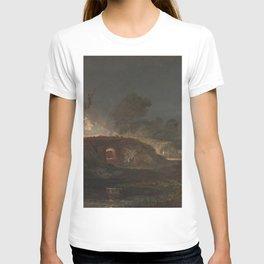 william turner Limekiln at Coalbrookdale  1797 T-shirt