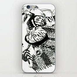 Pasha Cat iPhone Skin