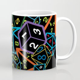 D&D (Dungeons and Dragons) - This is how I roll! Coffee Mug
