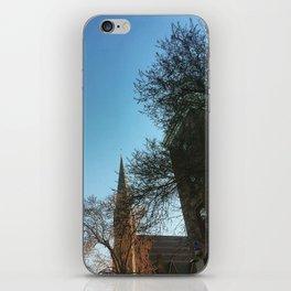Wesleyan Memorial Chapel Sky iPhone Skin