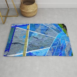 Track And Field Art Rug