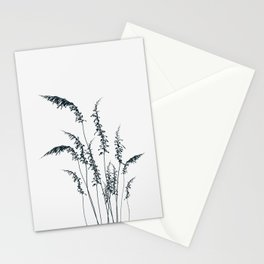 Wild grasses Stationery Cards