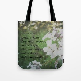 Have a Heart Charles Dickens Tote Bag