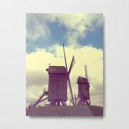 Wind mills Metal Print