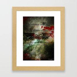 Astra Militarum Framed Art Print