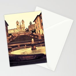 Spanish Steps Stationery Cards
