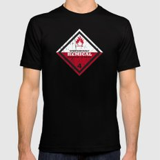 Kemical MEDIUM Mens Fitted Tee Black