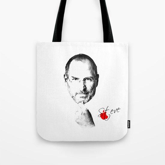 Steve Jobs Tote Bag