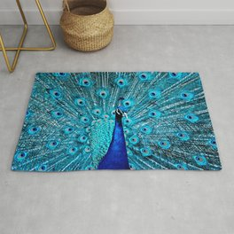 Peacock  Blue 11 Rug