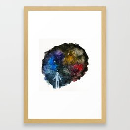 The Wonder of Space Framed Art Print