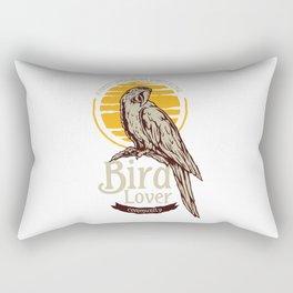 Tropical Bird Lover Rectangular Pillow