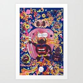 Mokshasura Mandala Art Print