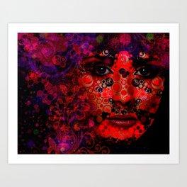 """ Dottie"" Art Print"