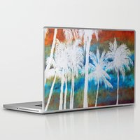 palm trees Laptop & iPad Skins featuring Palm Trees by Bonnie J. Breedlove