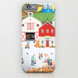 The Harvest Moon iPhone Case