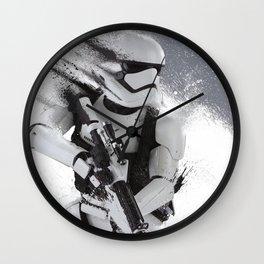 Shredded Trooper Wall Clock