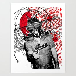 The Spy Art Print
