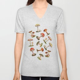 Magical Mushrooms Unisex V-Neck