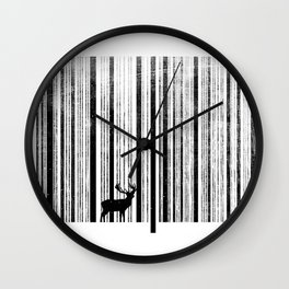 To scan a forest. Wall Clock