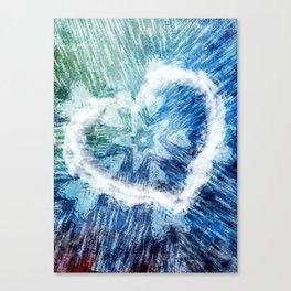 Coco Heart 1 Canvas Print