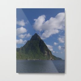 Piton, St. Lucia Metal Print