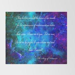 LOVE:  THE SONG OF SOLOMON Throw Blanket
