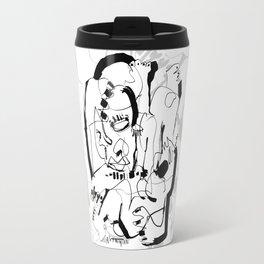 Seduction - b&w Travel Mug