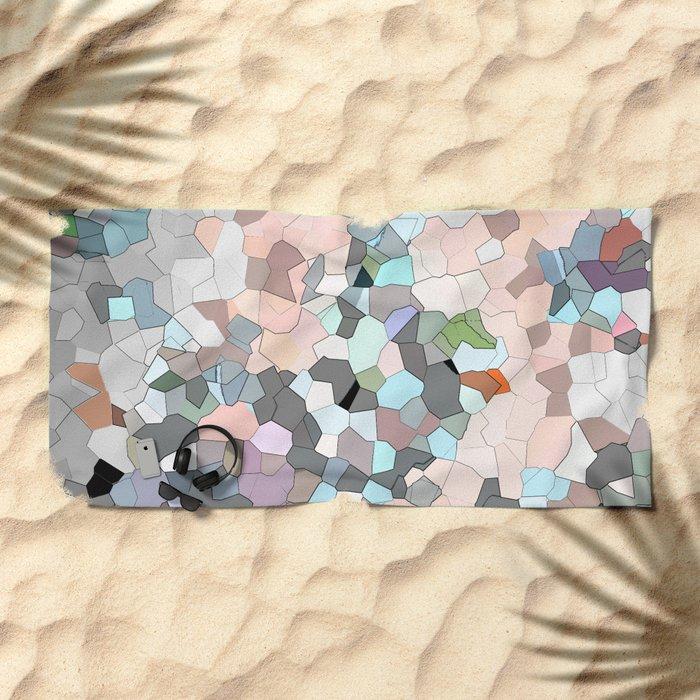 Mermaid Cells  Beach Towel