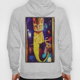 mermaid kitty Hoody