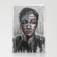 springsteen Stationery Cards featuring Shackled and Drawn by Westling