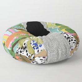 Jungle Queen Floor Pillow