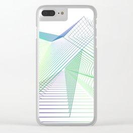 Geometric fantasy Clear iPhone Case