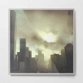Downtown Chicago Metal Print