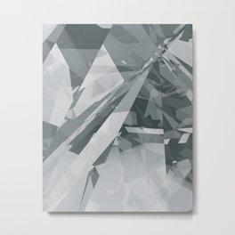 Ice cracks #2 Metal Print