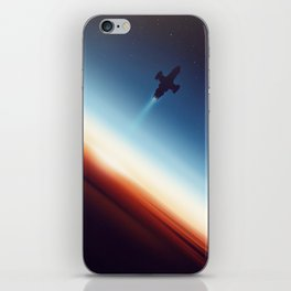 Into Space iPhone Skin