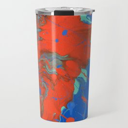 Paint Pouring 32 Travel Mug