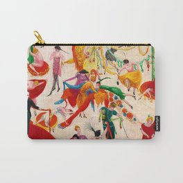 'Spring Sale Soireé at Bendels' Jazz Age New York City Portrait by Florine Stettheimer Carry-All Pouch