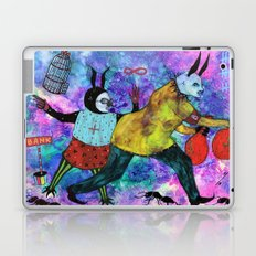 Rabbits Tricks Laptop & iPad Skin