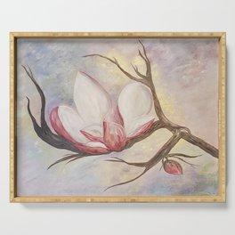 Magnolia Bloom Serving Tray